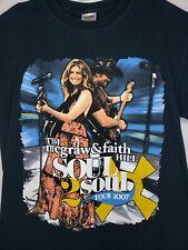 Tim McGraw Faith Hill Soul 2 Soul Tour 2007 Size Medium Taylor Swift