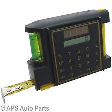 3m 10ft cinta métrica calculadora de nivel de burbuja Lápiz de 12.5mm de ancho hoja Hazlo tú mismo