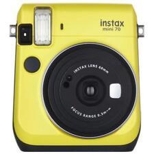 Fujifilm Instax Mini 70 Instant Camera With 10 Shots of Film - Canary Yellow