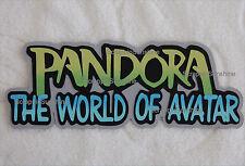 DISNEY Pandora World of Avatar Die Cut Title Scrapbook Paper Piece - SSFFDeb