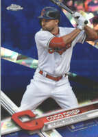 COCO CRISP 2017 TOPPS CHROME SAPPHIRE EDITION #281 ONLY 250 MADE