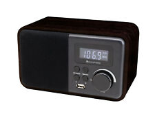 soundmaster TR250 Portable Bluetooth FM Clock Radio