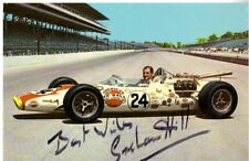 GRAHAM HILL Signed 8 x 10 Photo JSA Certified Autograph Racing