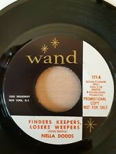 Nella Dodds - Finders Keepers Losers Weepers - Wand Records 171