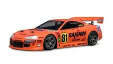 1:18  Nissan Silvia GT  Body / Karosserie clear + decals wb140mm HPI 7617