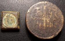 Lot de x2 poids monétaires d'époque royale !