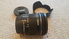 Canon EF-S 10-18 mm F/4.5-5.6 IS STM Wide Angle Lens