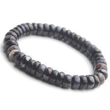 100% Natural Sugilite Colorful Gemstone Abacus Beads Healing Bracelet 9mm AAA
