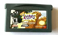 Rugrats: Castle Capers Nintendo Game Boy Advance GBA Cartridge Only - Tested