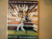 1966 WORLD SERIES PROGRAM Baltimore Orioles vs LA Dodgers