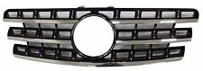 Front Grille Mercedes Benz W164 ML Class 2009-2011 Chrome & Black ML550 ML350