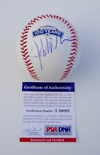JOHN WILLIAMS STAR WARS / JAWS SIGNED FENWAY PARK 100 YEARS BASEBALL PSA T59093
