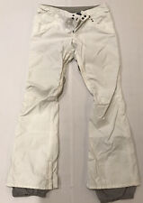 Burton Womens White Ski Snow Pants Size M