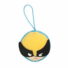 Marvel Kawaii Art Collection Wolverine Face Plush Keychain