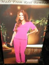 PINK Soft, Stretchy & Breathable Bamboo Lounge Pants - MED (see msmnts)