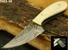 """ALISTAR 4.3"""" MINI HANDMADE DAMASCUS STEEL SKINNER/HUNTING KNIFE 2403-08"""