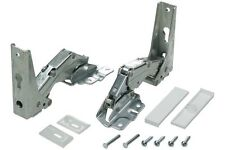 IKEA Fridge Freezer Door Hinge Kit 2 x Genuine Upper + Lower Integrated Hinges