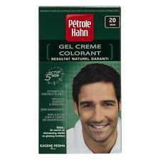 Coloration cheveux nuance 20 brun PETROLE HAHN