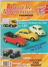 """14 """"Auto In Miniatuur"""" magazines jaargang 1997 tot 2002"""