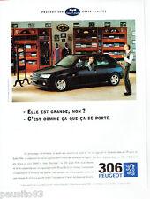 PUBLICITE ADVERTISING 026  1995  Peugeot 306 Eden Park  série limitée