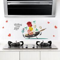 Cartoon Wandaufkleber DIY Küche Kühlschrank Wandbild Abziehbilder