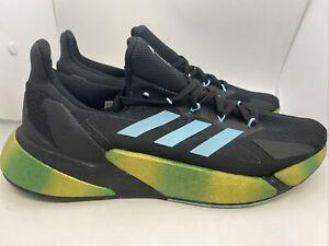 Adidas X9000L4 Men's Boost Running Shoes FY3229 Black/Blue Spirit Sz 10