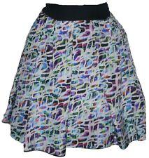 NWT ANNA MOLINARI of Blumarine silk career skirt runway $550 40 multi color