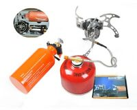 BRS Outdoor Stove Set Camping Cooking Stove Oil Stove with Oil Bottle BRS-8