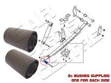 FOR NISSAN NAVARA 2.5DCi D40 4X4 05-10 REAR LEAF SPRING FRONT BUSH PAIR PICKUP