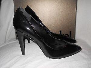 Luxury Rebel New Womens Victoria Black Patent  Heels Eur 39.5 US 9 M Shoes