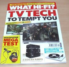 August New Film & TV Magazines