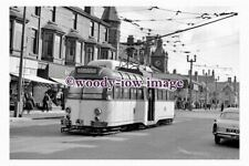 gw0491 - Blackpool Tram no 291 in 1963 - photograph