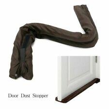 Twin Door Draft Dodger Guard Stopper Energy Saving Protector Doorstop K8U6