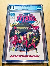 NEW TEEN TITANS #20 V2 CGC 9.8 NM/MT Jason Todd Joins! Original Team Returns!