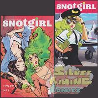 SNOTGIRL #4 Set of Two REGULAR + VARIANT COVER Image Comics