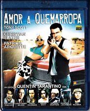 Quentin Tarantino: AMOR A QUEMARROPA de Tony Scott. Tarifa plana envío España 5€