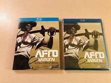 Funmation 'Afro Samurai' Complete Murder Sessions Blu-Ray Sealed New OOP HTF