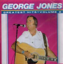 "GEORGE JONES ""Greatest Hits Volume 2"" Brand New CD COUNTRY MUSIC 9 Tracks"