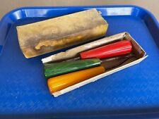 Vintage Tools Checkering Set of 3 Original Bakelite in Original Box