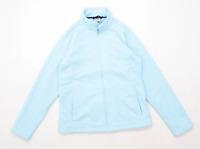 Trespass Womens Size M Fleece Blue Jacket