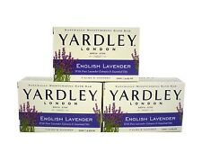 6 X Yardley Bar Soap English Lavender With Essential Oils 4.25 Oz Bar