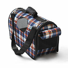 Dog Cat Puppy Pet Travel Carrier Kennel Crate Folding Cage Bag