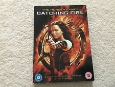 The Hunger Games Catching Fire DVD with box sleeve. Rating 12
