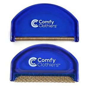 Comfy Clothiers Sweater Shaver & Cashmere Comb Combo Pack – Fabric Shaver Rem...