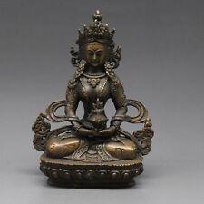 Tibet Tibetan Buddhism Bodhisattva Vajrasattva Buddha Bronze Statue