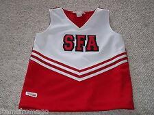 "SFA Teamleader Red & White Cheerleading UNIFORM TOP 30"" Girls"