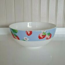 More details for cath kidston strawberry bowl by queens fine bone china - free p&p included