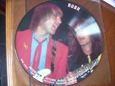 "rush interview 12"" vinyl picture disc picture disc lp limited edition"