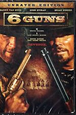 6 Guns (DVD, 2010)m UNRATED EDITION  Western  Barry Van Dyke, Greg Evigan