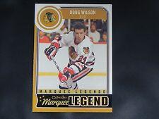 2014-15 OPC Marquee Legend #594 Doug Wilson Chicago Blackhawks